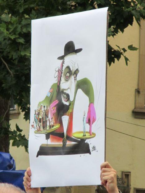Anti Israel Demo Stuttgart 2 25.07.2014